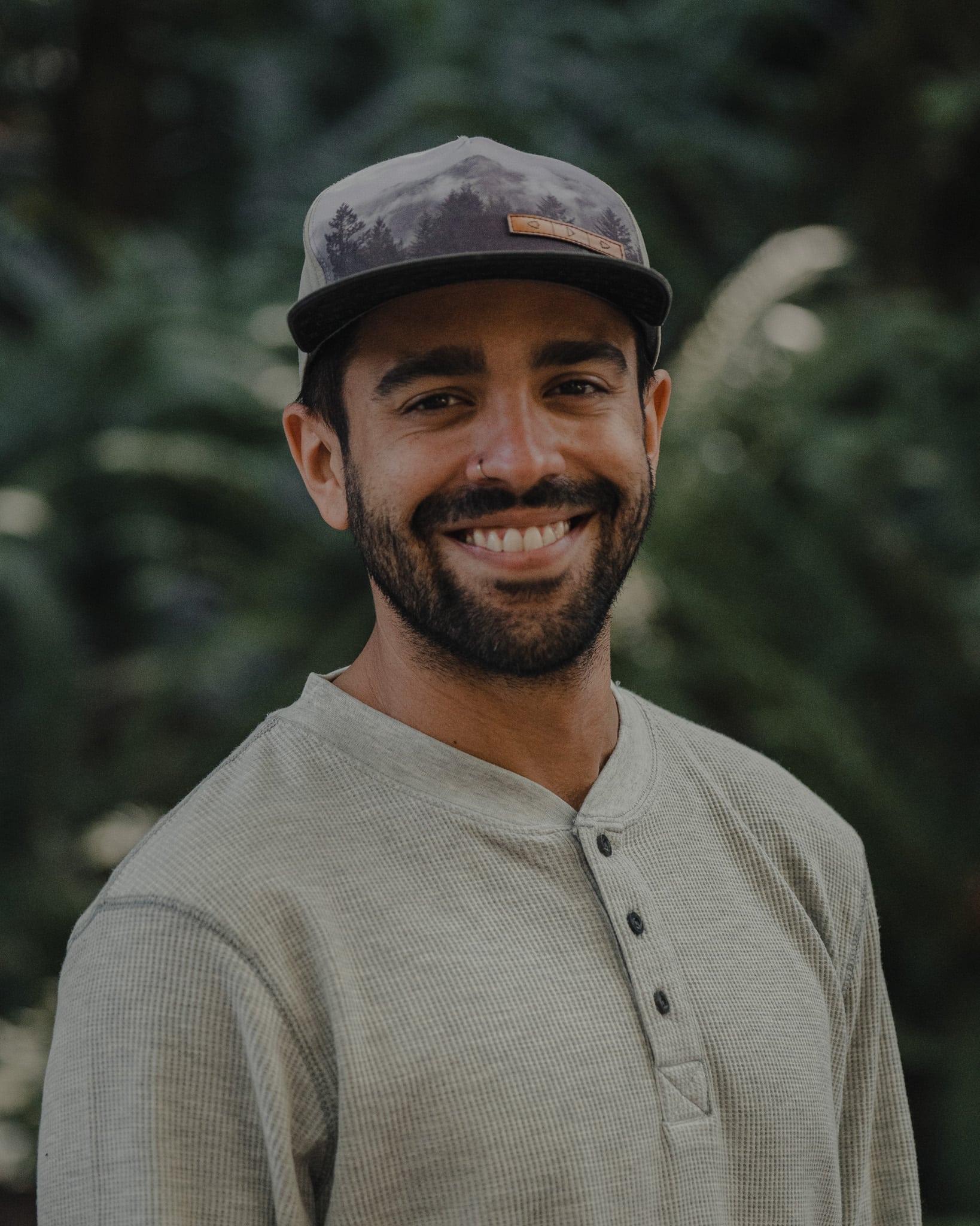 Adventure Photographer Portrait of Ethan James Rivera.